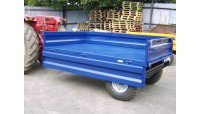 2000 Kg  Payload Dropside Tipping Trailer [Removable]