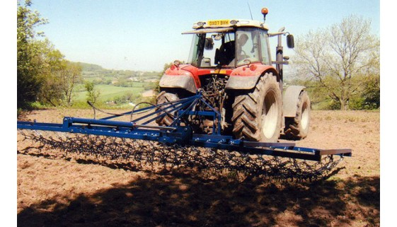 Hydraulic Folding Heavy Grass Harrows