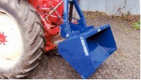 Hydraulic Tipping Box - 4ft Wide and 5 ft wide