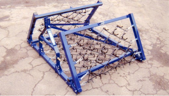 Small Holder Folding Frame Harrow