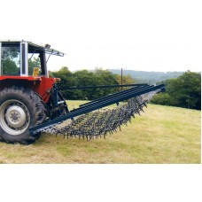 Flexible Chain And Spike Harrows Mounted