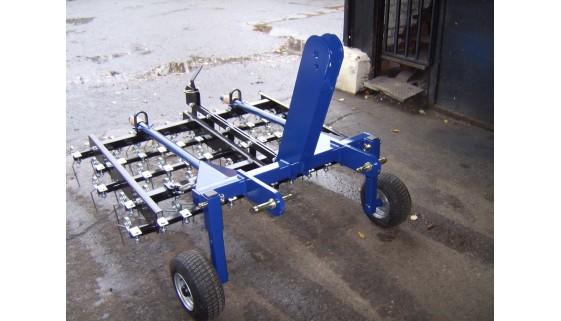 Compact Springtine Scarifier - 1.5mtr Wide