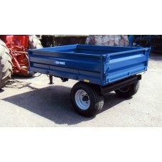 Tipping Trailer With Drop Sides (Removeable) - 1500kgs